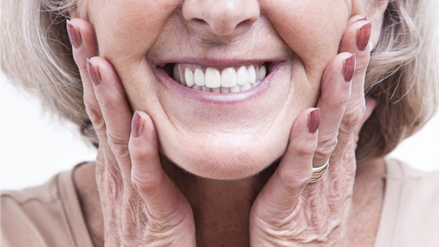 how to repair broken dentures in Conroe
